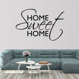Sticker home sweet home