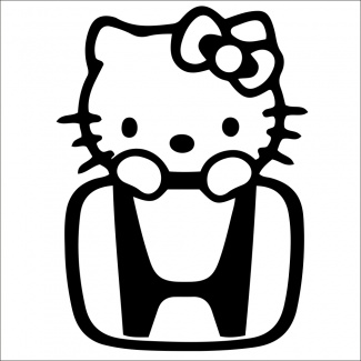 Sticker honda kitty