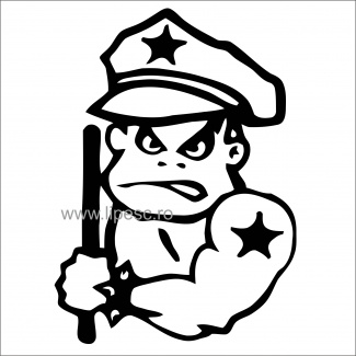 Sticker military