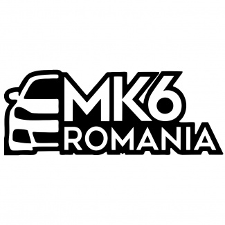 Sticker oficial Mk6 Romania