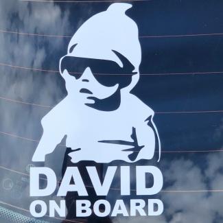 Sticker personalizat cu nume