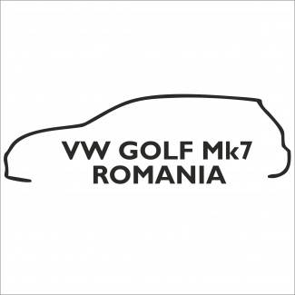 Sticker vw golf mk7 Romania