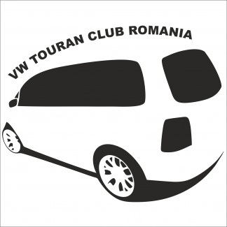 Sticker vw touran club Romania