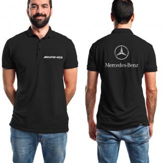 Tricou Polo Mercedes fata-verso