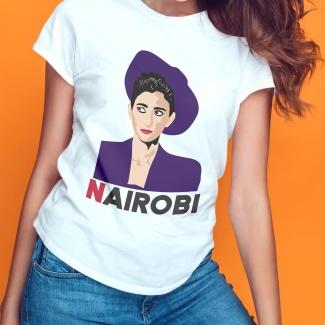 Tricou casa de papel Nairobi