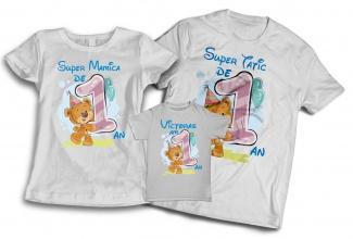 Tricouri aniversare cu nume