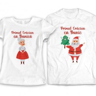 Tricouri pentru Bunici de Craciun