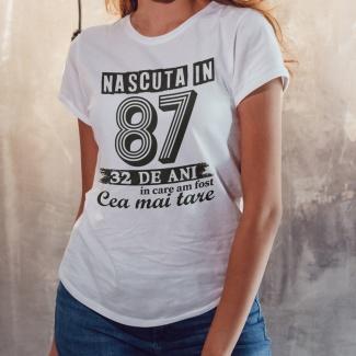 Tricouri personalizate cu varsta