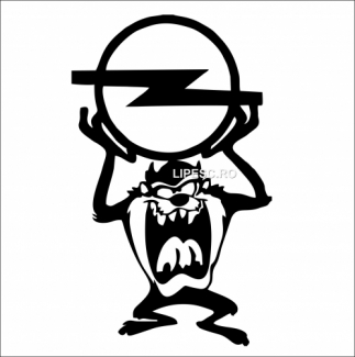 Sticker tasmanian Opel