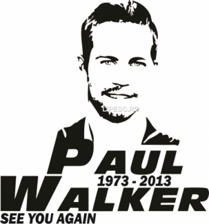 Sticker Paul Walker