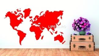 Sticker Harta lumii