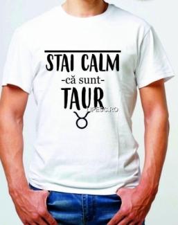 Tricou cu zodia Taur
