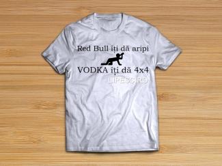 Tricou Vodka iti da 4X4