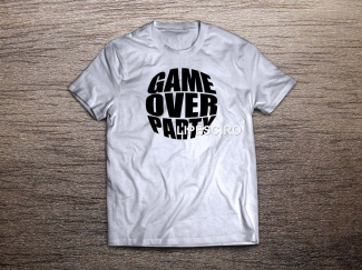Tricou Game over party