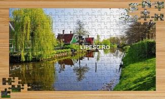 Puzzle cu peisaj din natura