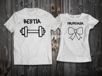 Tricouri personalizate cupluri