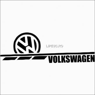 Sticker vw